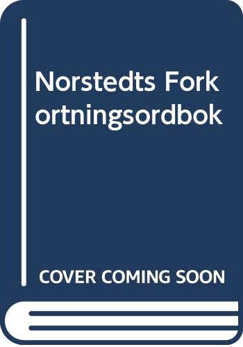 9789172270060: Norstedts Forkortningsordbok (Swedish Edition)