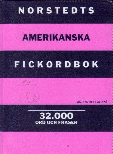 9789172275348: Norstedts Amerikanska Fickordbok: Amerikansk-svensk, Svensk-amerikansk