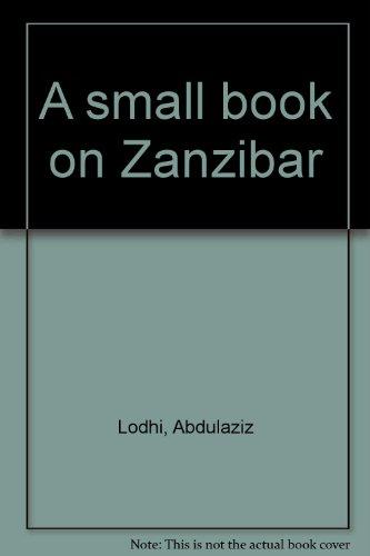 9789173281997: A small book on Zanzibar