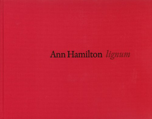 9789173530538: Ann Hamilton: lignum (English and Swedish Edition)
