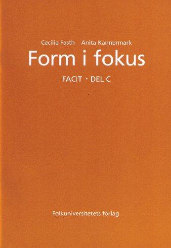 Form I Fokus: Answer Key C: Cecilia Fasth; Anita