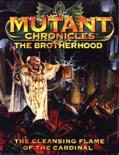 9789178982516: Mutant Chronicles - The Brotherhood (The Cleansing Flame Of The Cardinal)
