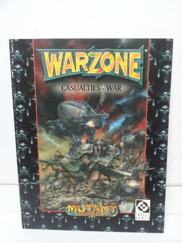 9789178984442: Warzone: Casualties of War (Mutant Chronicles)