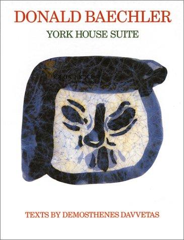 9789179360290: Donald Baechler: York House Suite
