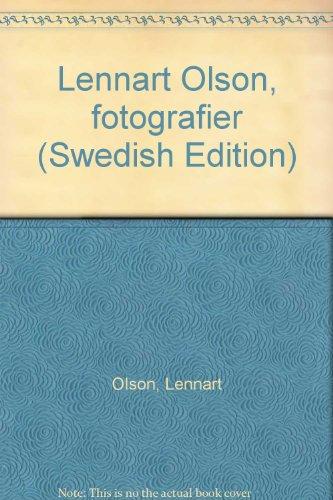 Fotografier: Olson,Lennart