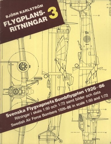9789185496259: Svenska Flygvapnets Bombflygplan 1926-86 / Swedish Air Force Bombers 1926-86 in Scale 1:50 and 1:72