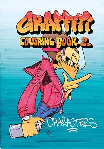 9789185639281: Graffiti Coloring Book 2: Characters