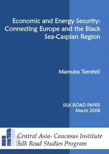 9789185937158: Economic and Energy Security: Connecting Europe and the Black Sea-Caspian Region (Silk Road Papers)
