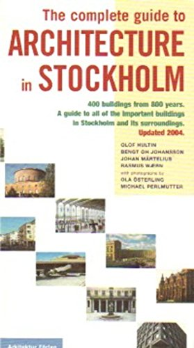 9789186050634: The Complete Guide To Architecture In Stockholm
