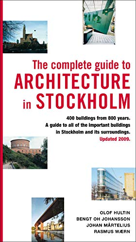 9789186050757: The Complete Guide to Architecture in Stockholm