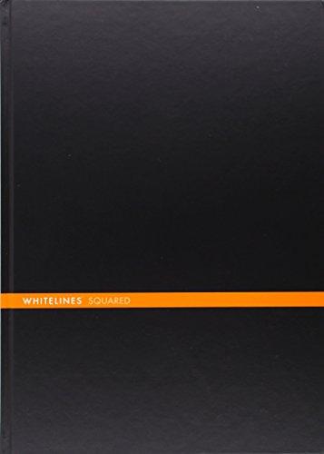 9789186177614: Whitelines Hard Bound A4 Squared Notebook - Black