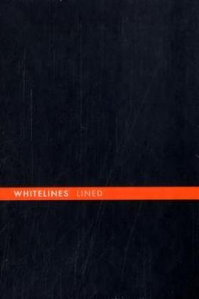 9789186411701: Whitelines Hard Wire A6 Lined Notebook - Black
