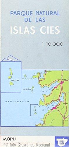 9789200012136: Carte touristique : Parque Nat. de las Islas Cies (en espagnol)