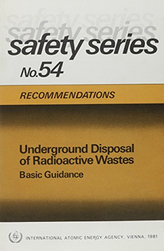 9789201233813: Underground Disposal of Radioactive Wastes: Basic Guidance (Safety Series)