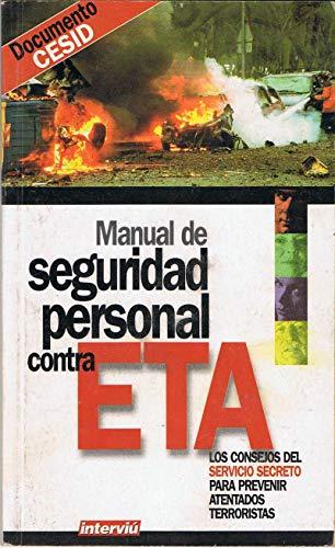 9789202464544: MANUAL DE SEGURIDAD PERSONAL COMTRA ETA