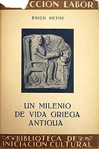 9789202918535: Un milenio de vida griega antigua