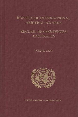Reports of International Arbitral Awards (St/ Leg/: United Nations