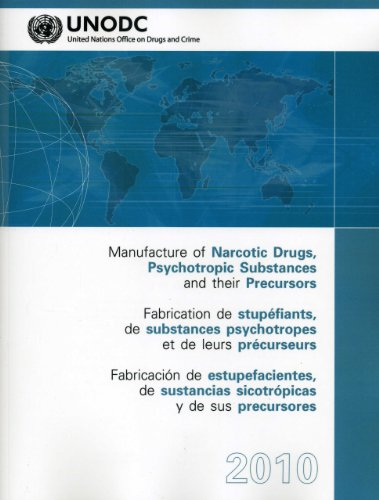9789210481458: Manufacture of Narcotic Drugs Psychotropic Substances and their Precursors 2010 (Multilingual Edition)
