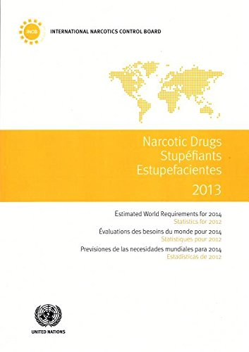 Narcotic Drugs: Estimated World Requirements for 2014, Statistics for 2012 (Paperback): United ...