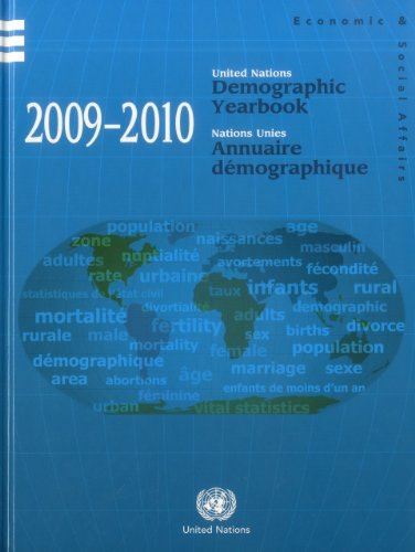 9789210511049: United Nations Demographic Yearbook 2009-2010 (Demographic Yearbook (Ser. R)) (Multilingual Edition)