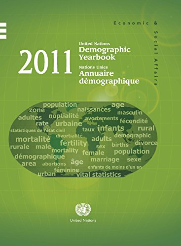 9789210511056: United Nations Demographic Yearbook 2011 (Demographic Yearbook (Ser. R)) (Multilingual Edition)