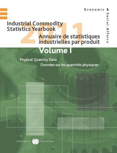 Industrial Commodity Statistics Yearbook: 2011