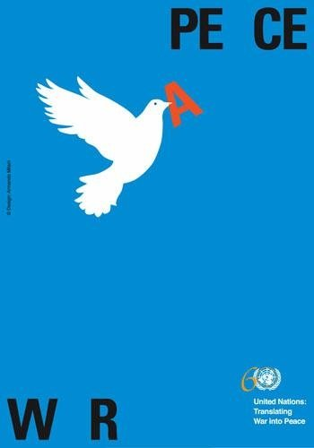 9789211014945: War and Peace Poster: United Nations, Translating War into Peace (Department of Public Information)