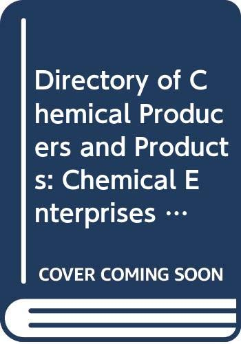 9789211166200: Directory of Chemical Producers and Products: Chemical Enterprises in Central and Eastern Europe (Directory of chemical producers & products)