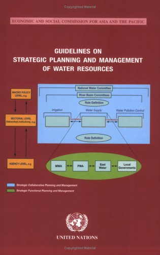 9789211204117: Guidelines on Strategic Planning and Management of Water Resources (Economic and Social Commission for Asia and the Pacific)