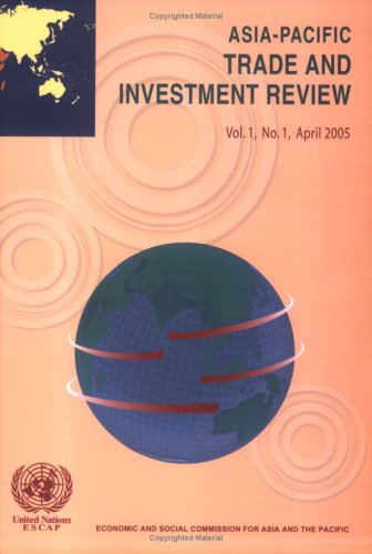 9789211204254: Asia-Pacific Trade and Investment Review
