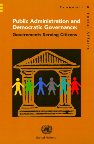 9789211231601: Public Administration and Democratic Governance: Governments Serving Citizens (Economic & Social Affairs)
