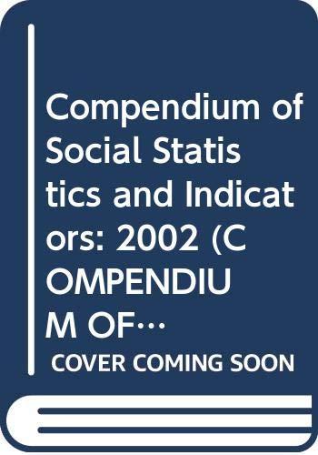 Compendium of Social Statistics and Indicators: 2002: n/a