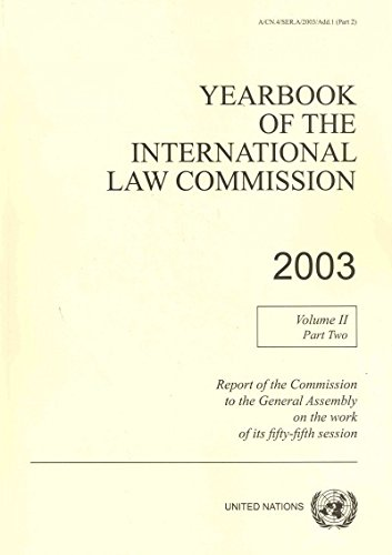 Yearbook of the International Law Commission 2003 (United Nations Office in Geneva) - United Nations
