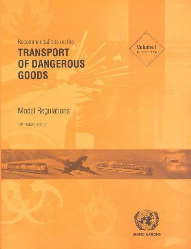 9789211391466: Recommendations on the Transport of Dangerous Goods: Model Regulations