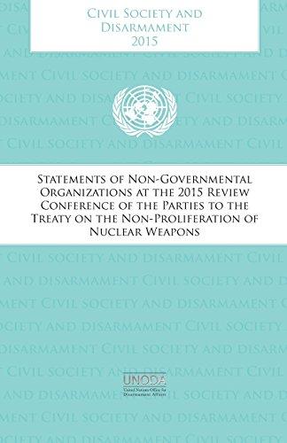 9789211423099: Civil Society And Disarmament 2015