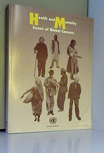 9789211513400: Health and Mortality: Issues of Global Concern