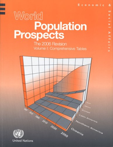 9789211514292: World Population Prospects: The 2006 Revision - Comprehensive Tables (Population Studies Series)