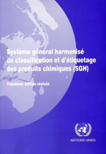 9789212165097: Système général harmonisé de classification et d'étiquetage des produits chimiques (SGH)