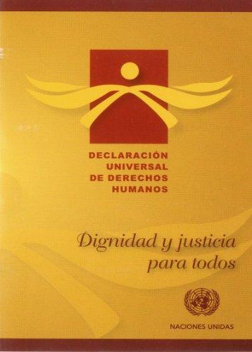 9789213002483: Declaracion Universal de Derechos Humanos (Department of Public Information) (Spanish Edition)