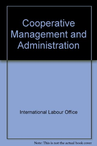 9789221012818: Cooperative Management & Administration