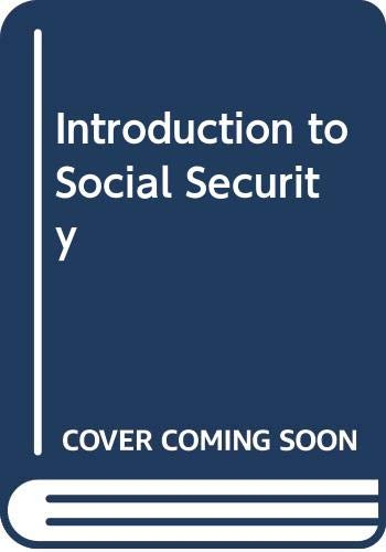 9789221036388: Introduction to Social Security