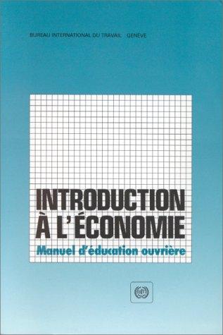 9789222032655: Introduction à l'économie