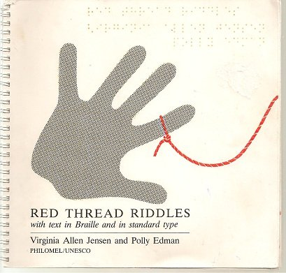 9789231017353: Red Thread Riddles: with Text in Braille and in Standard Type
