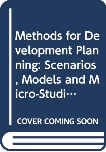 Methods for Development Planning: Scenarios, Models and: J.K.Rowling