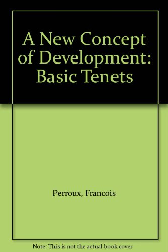 9789231020575: A New Concept of Development: Basic Tenets