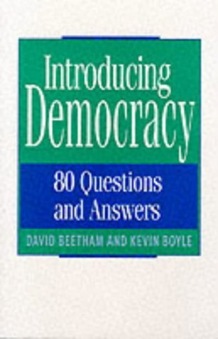 9789231030819: Introducing Democracy: 80 Questions and Answers