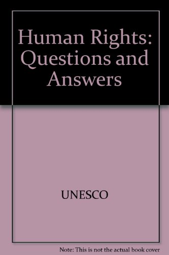 Human Rights: Questions and Answers: Leah Levin, Plantu