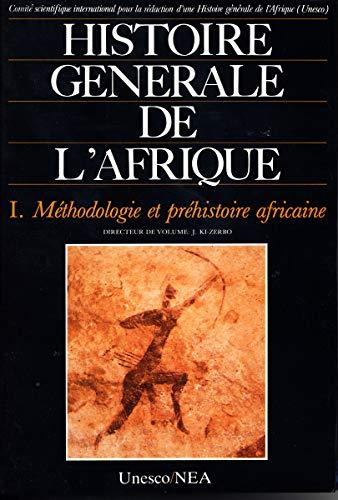 9789232017079: HISTOIRE GENERALE DE L'AFRIQUE V1 . METHODO (Histoire plurielle)