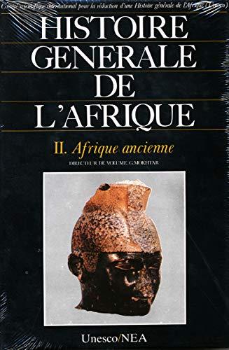 9789232017086: HISTOIRE GENERALE DE L'AFRIQUE V2 . AFRIQUE (Histoire plurielle)