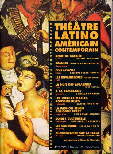 9789232034816: Th��tre latino-am�ricain contemporain (1940-1990)